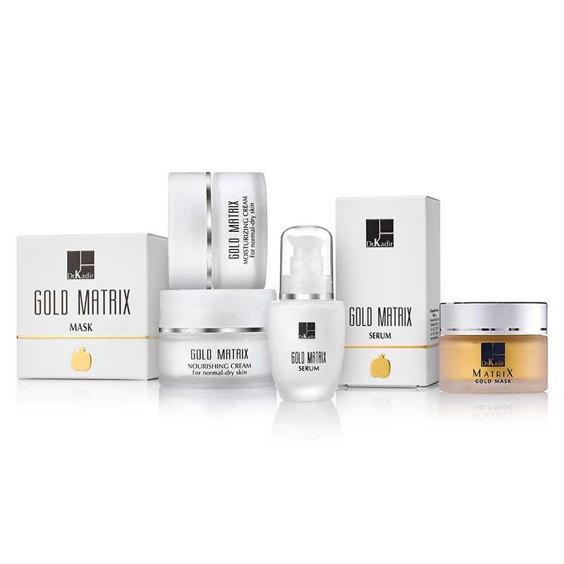 Мощное восстановление увядающей кожи / Линия косметики Gold Matrix - Dr. Kadir