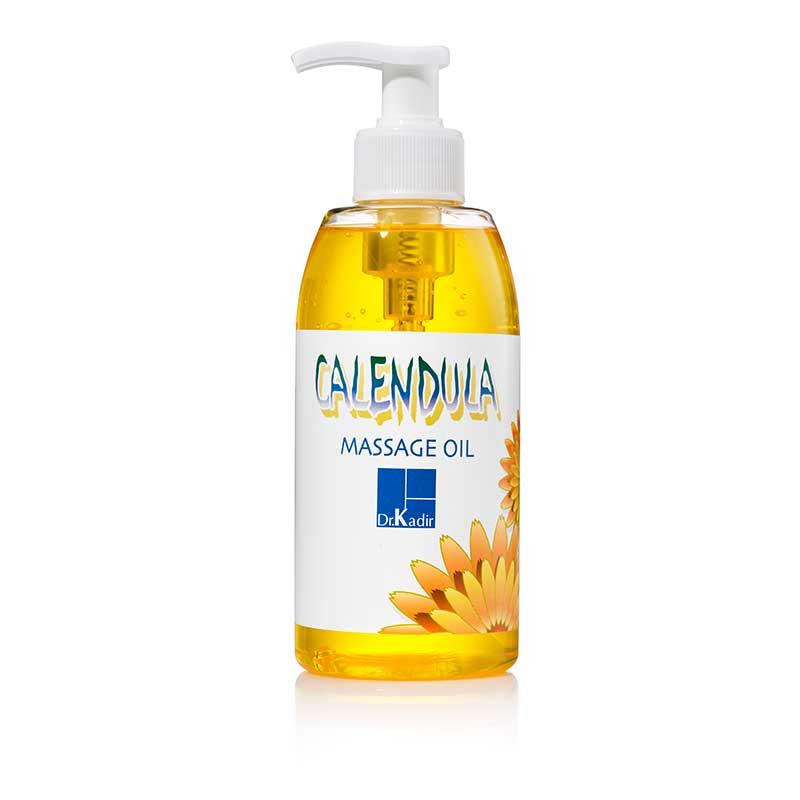 Массажное масло Зародыши пшеницы — Календула — Calendula-Wheat Germ Massage Oil - Dr. Kadir