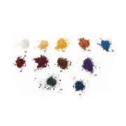 Минеральные рассыпчатые мерцающие тени для век Dr. Kadir - Shimmering mineral powder eye shadow