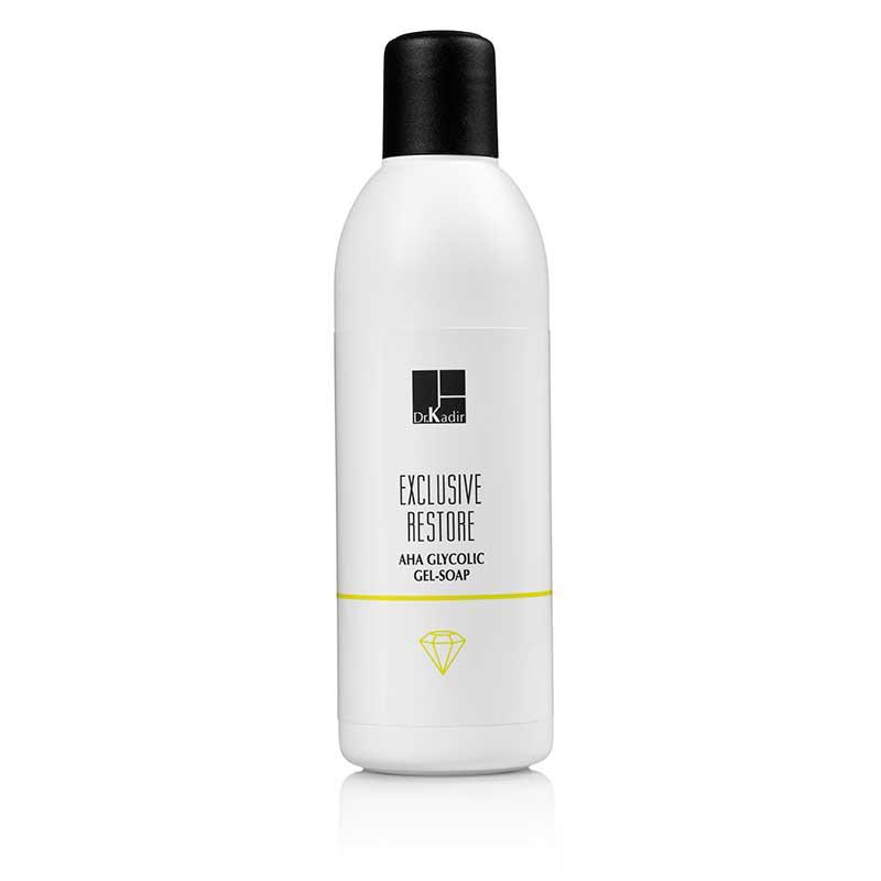 Гликолевое гель мыло с альфа-гидроксильной кислотой — Exclusive Restore Glycolic AHA Gel Soap