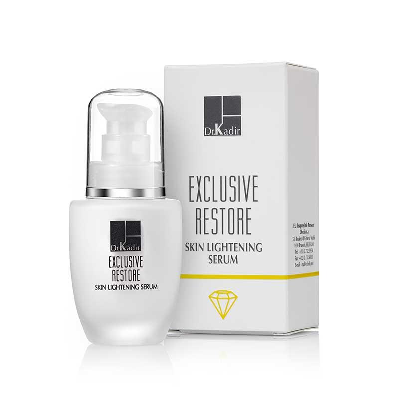 Осветляющий кожу серум — Exclusive Restore Skin-Lightening Serum